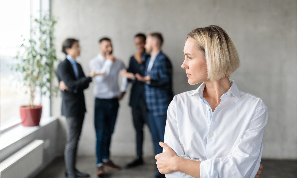 However workplace bullying is not limited to aggressive behaviour, and includes many other forms of treatment including ostracising particular employees.